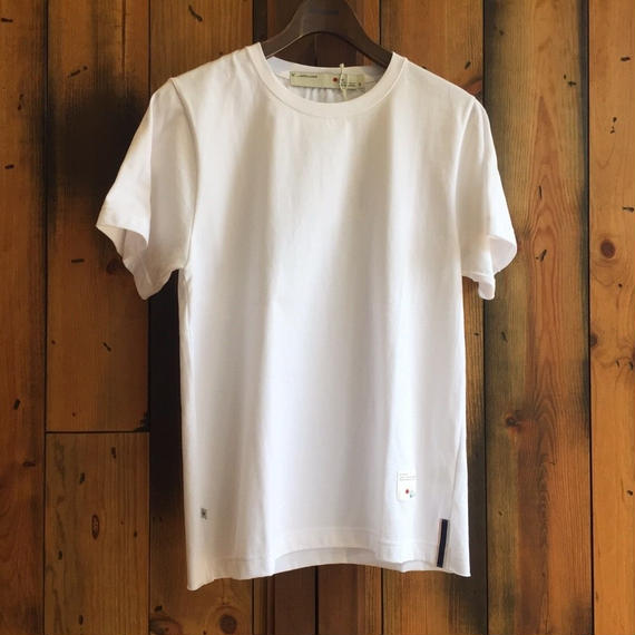 CUTOFF T-SHIRT【WHITE】/ BS-CS04