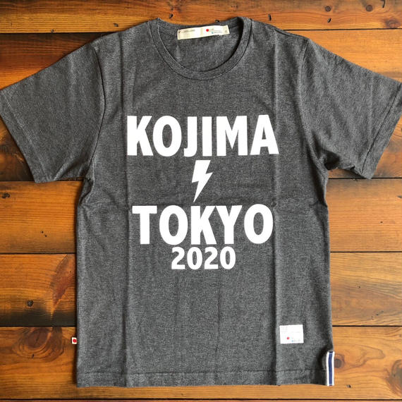 "BASIC T-SHIRT  ""OLYMPIC""【D-GRAY】/ BS-S3-CS1-01-DG"