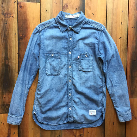 CHAMBRAY SHIRT USED 【L.IND】 / BS17AW-SH02