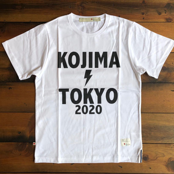 "BASIC T-SHIRT  ""OLYMPIC""【WHITE】/ BS-S3-CS1-01-WH"