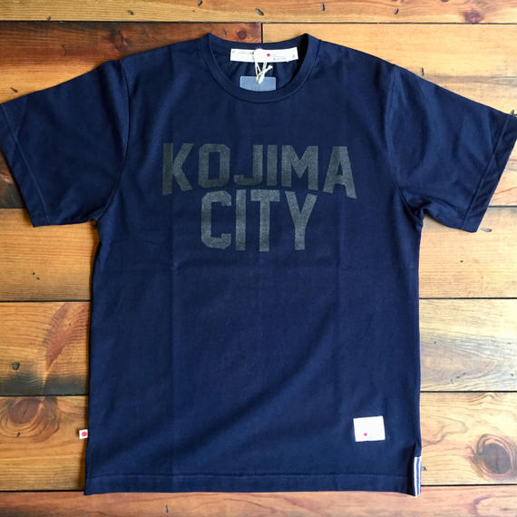 KOJIMA CITY PRINT T-SHIRT 【N-BK】/ BS-CS1-01
