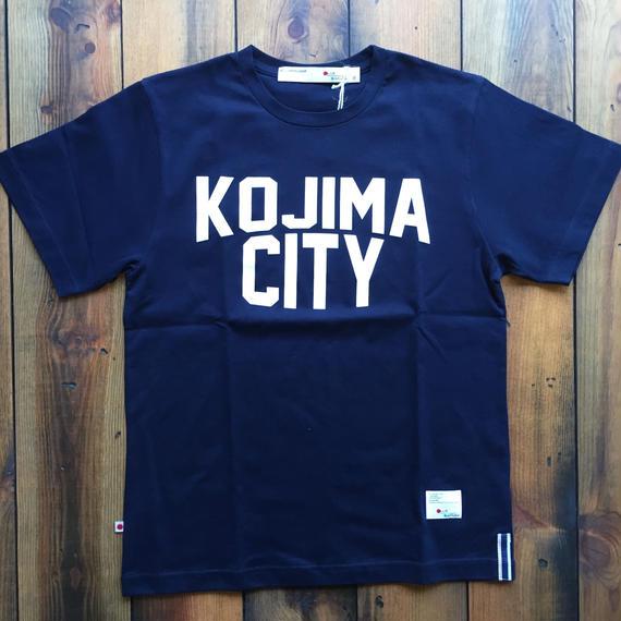 KOJIMA CITY PRINT T-SHIRT 【NAVY】/ BS-CS1-01