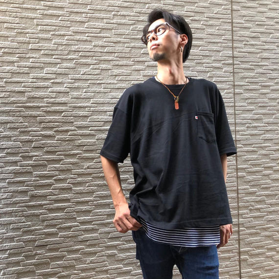 BIG  T-SHIRT【BLACK】/ BS-BCS1