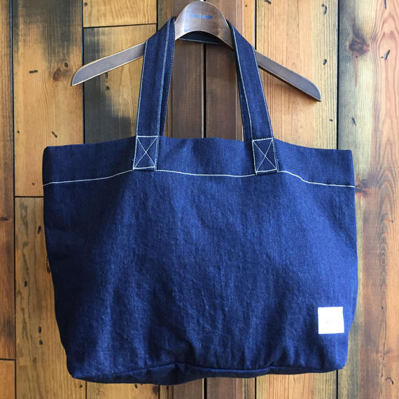 JAPAN BLUE SAKURA COLLABO TOTE BAG 【INDIGO】