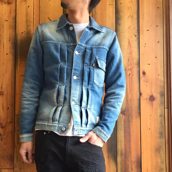 KNIT DENIM JACKET / BS-JK03
