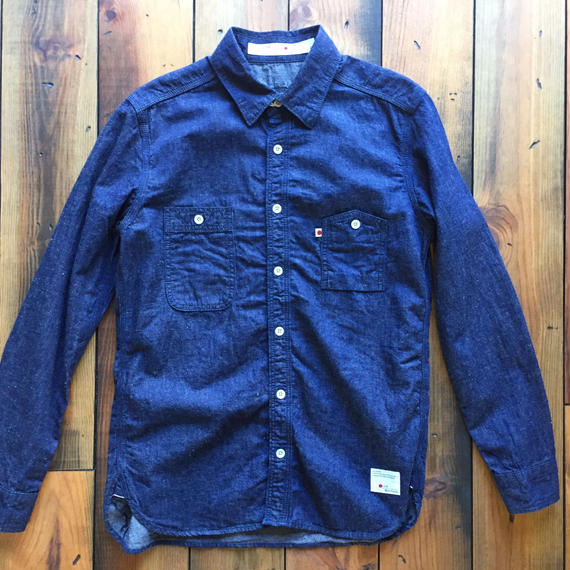 DUNGAREE SHIRT OW / BS-SH04