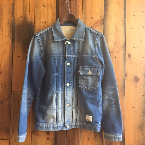 KNIT DENIM JACKET / BS17AW-JK03