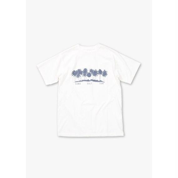 PALM TREE S/S REGULAR TEE / OFF