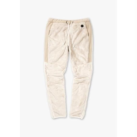 SWITCHING FLEECE PANTS / BEIGE