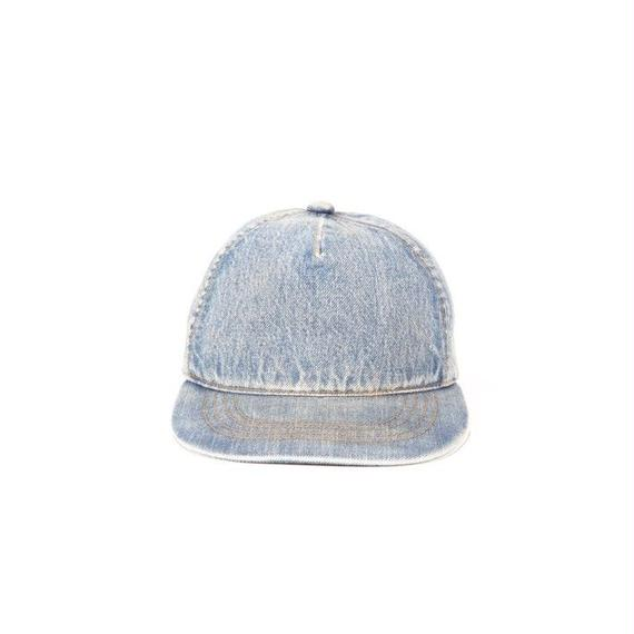 DENIM BASEBALL CAP / BLUE