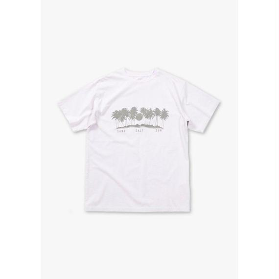 PALM TREE S/S REGULAR TEE / LAVENDER