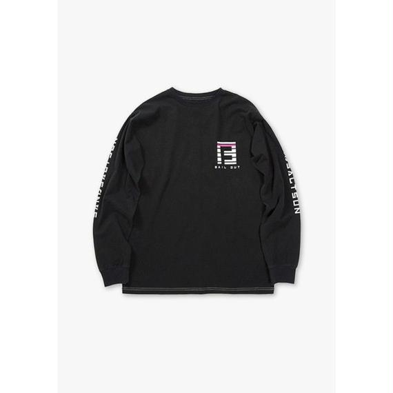 BAILOUT L/S REGULAR TEE / BLACK