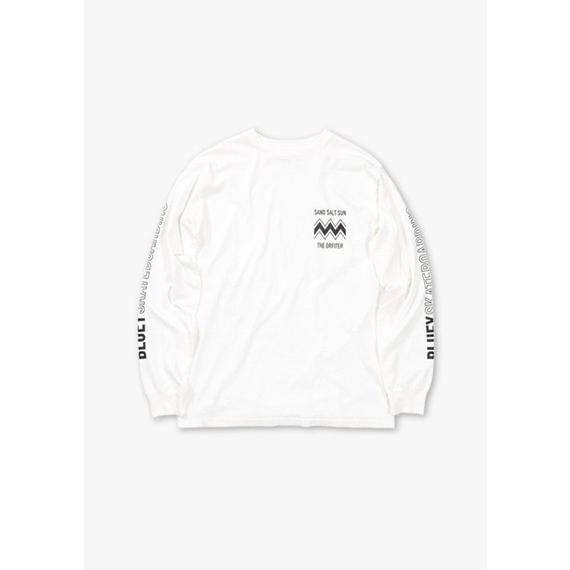 SKATE BOARDING L/S REGULAR TEE / OFF