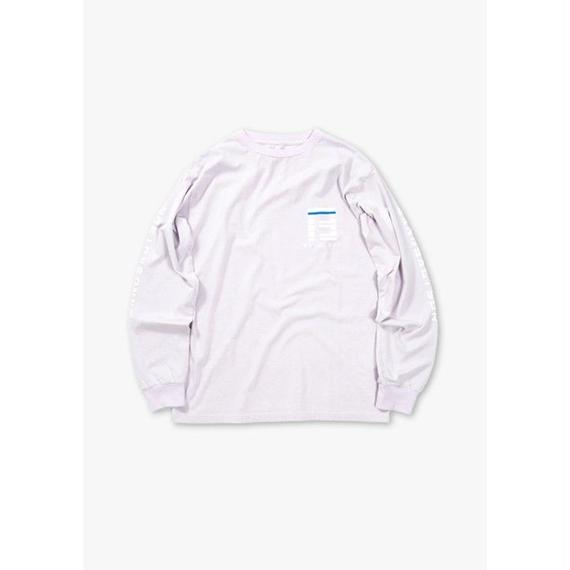 BAILOUT L/S REGULAR TEE / LAVENDER