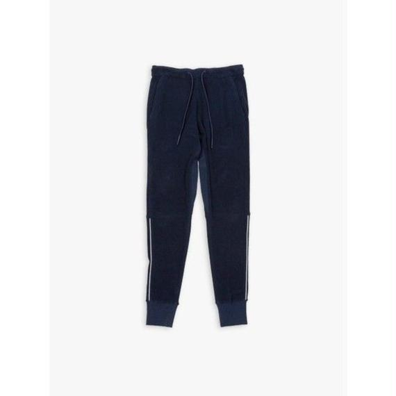 34/-BURNEST PILE ATHLETIC PANT / NAVY