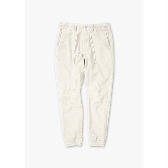 CORDUROY EASY STRETCH PANTS / GREY