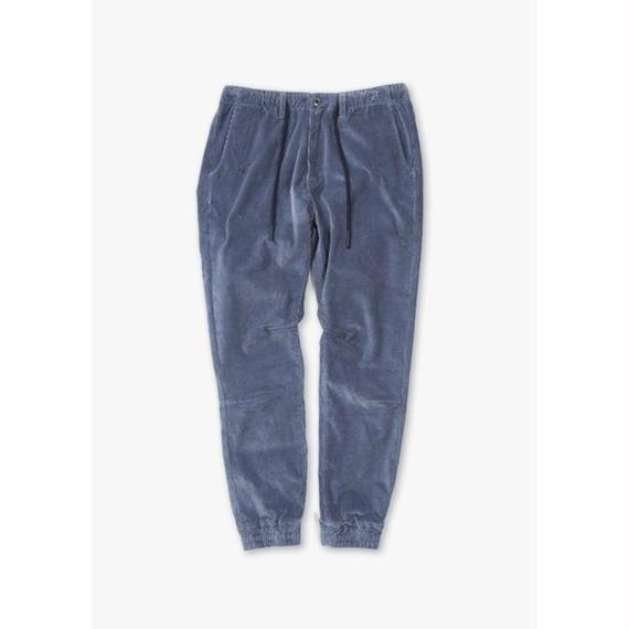 CORDUROY EASY STRETCH PANTS / BLUE