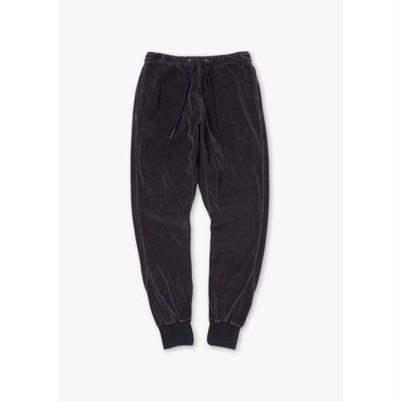VELOUR SWEAT PANTS / NAVY
