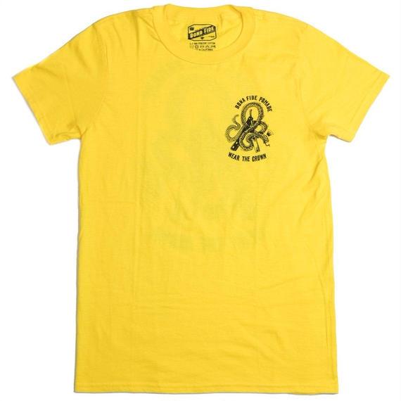 スネーク & ブレード Tシャツ YELLOW