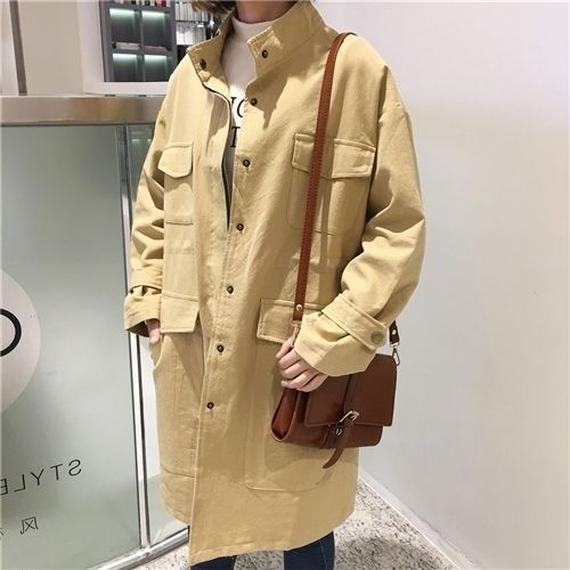 [1021ot]BIGシルエットミディジャケット