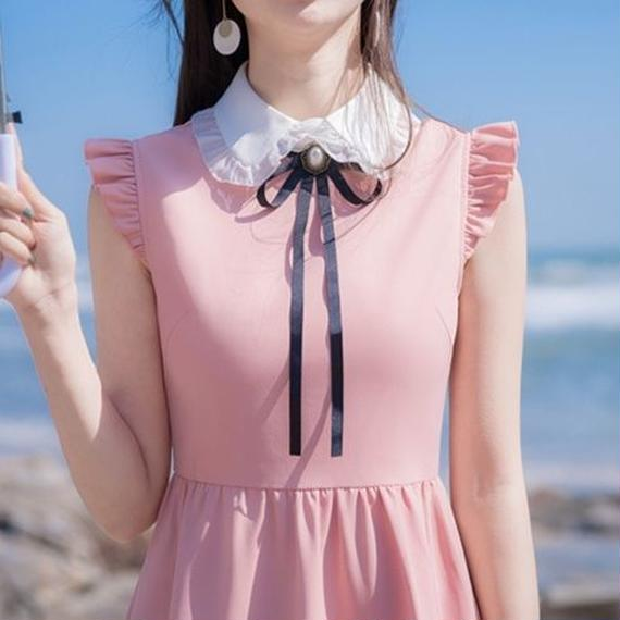 pink  collar dolly OP(No.300399)