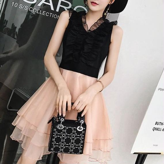 lady tulle dress(No.300403)