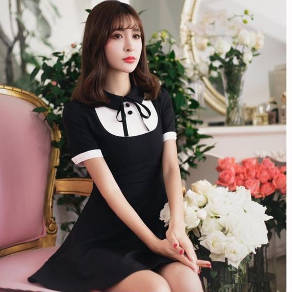 dolly black dress(No.300390)