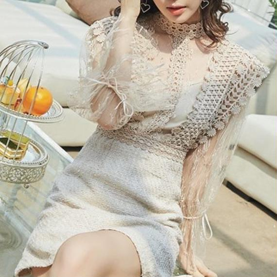 crochet  lace OP(No.300488)