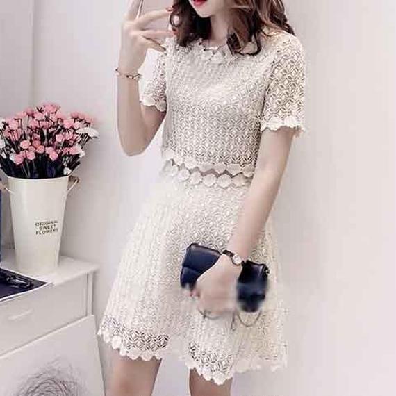 Separate Lace Dress (No.300221)