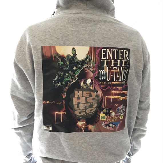 ENTER THE MUTANT ZIP PARKA  (Grey)