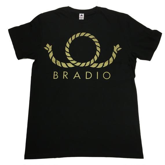 デカBRADIOTシャツ【黒】<XXL>
