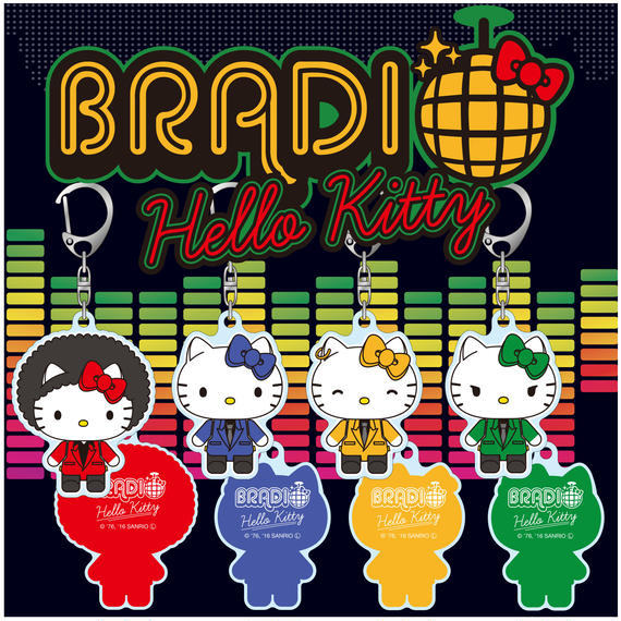 BRADIO×HELLO KITTYキーホルダー