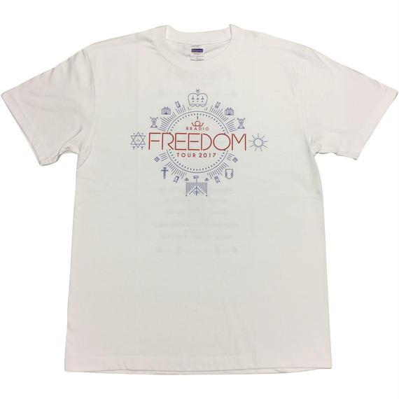FREEDOM Tシャツ【白】