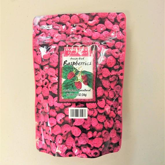 Freeze Dried Raspberries(フリーズドライ ラズベリー)34g