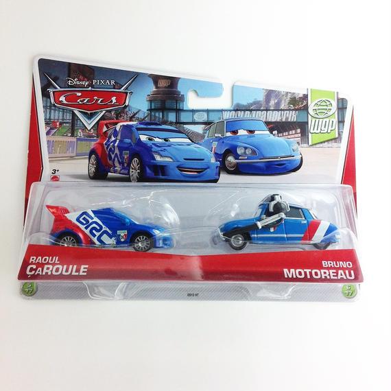 【Disney PIXAR】cars RAOUL CAROULE BRUNO MOTOREAU wqp