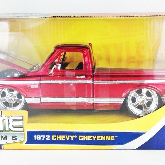 【Jada BIGTIME KUSTOMS】 1972 CHEVY CHEYENNE