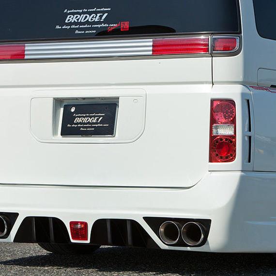 【Nissan Elgrand E51 (Late Model)】Spread E51後期 リアバンパー