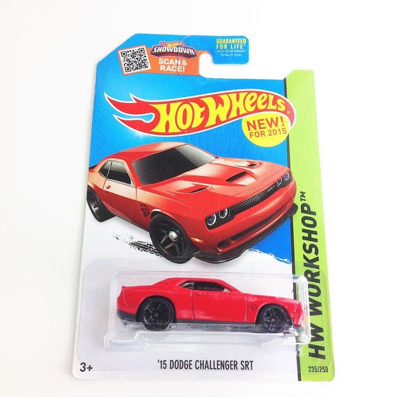 【HOT WHeeLS】  HW WORKSHOP '15 DODGE CHALLENGER SRT