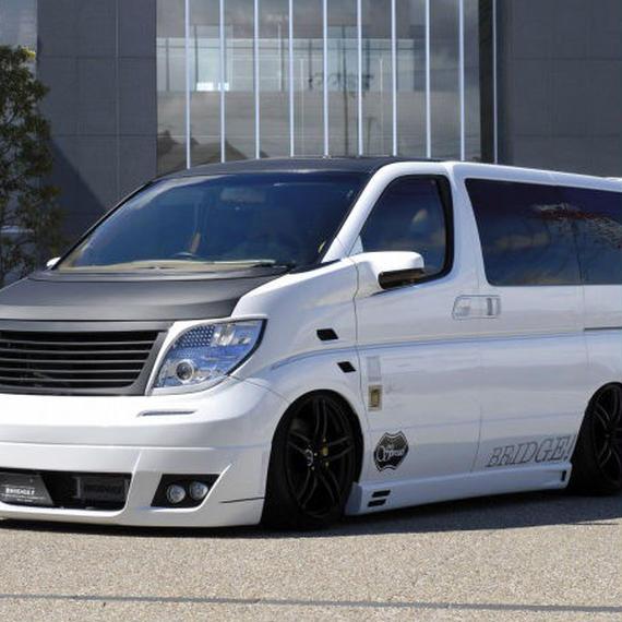 【Nissan Elgrand E51 (Late Model)】Spread E51後期 エアロ4点セット