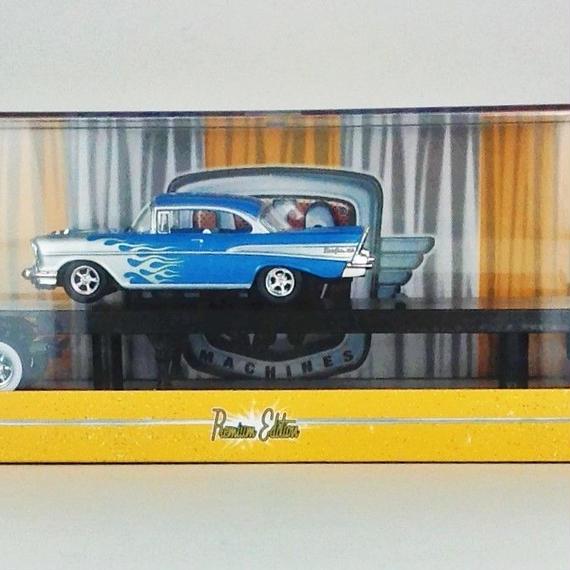 【M2 MACHINES】 1958 Chevalet LCF& 1969 Pontiac GTO R16