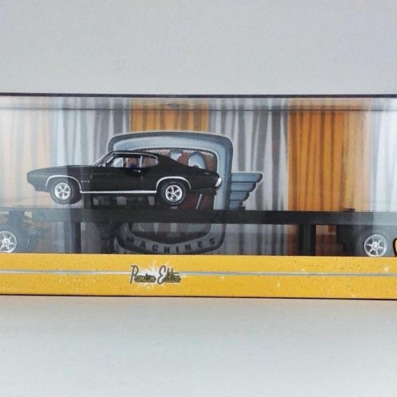 【M2 MACHINES】 1958 Chevrolet LCF&1969 Pontiac GTO R16