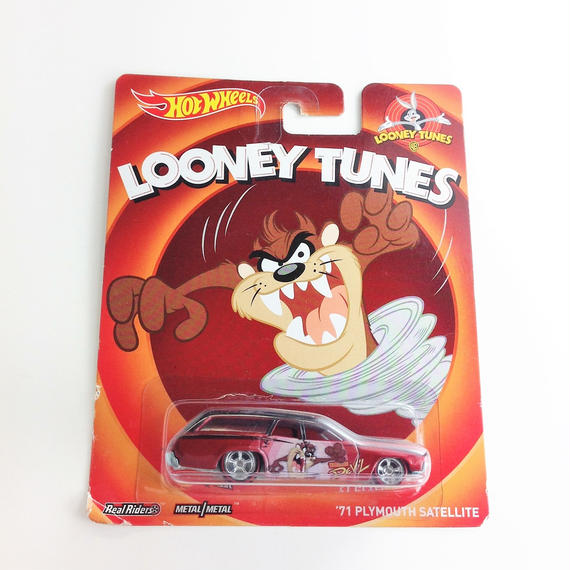 【HOT WHeeLS】 LOONEY TUNES  '71 PLYMUTHSATELLITE