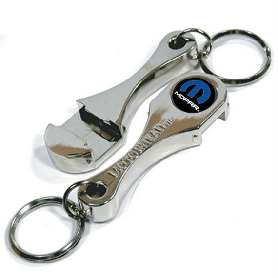 Connecting Rod Bottle Opener Keychain