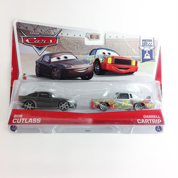 【Disny PIXAR 】 cars  PISTON CUP   BOB CUTCASS PARRELL CARTRIP