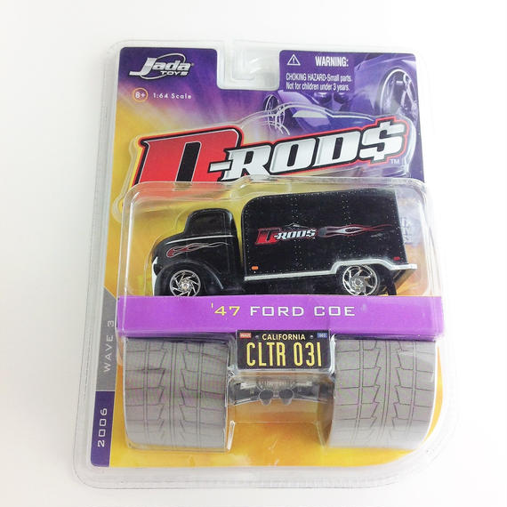 【Jada 】 D-RODS '47 FORD COE 2006
