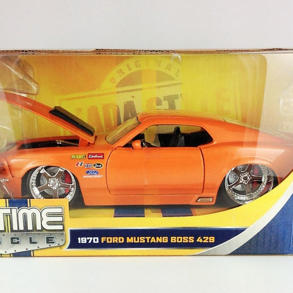 【Jada BIGTIME MUSCLE】 1970 FORD MUSTANG BOSS 429