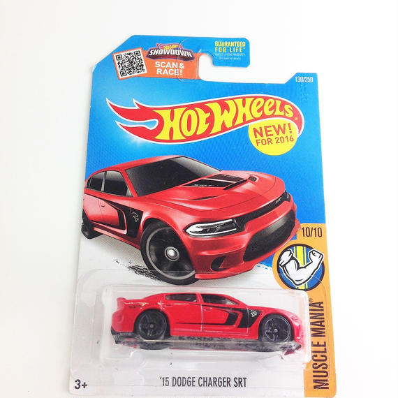 【HOT WHeeLS】 MUSCLE MANIA '15 DODGE CHARGER SRT