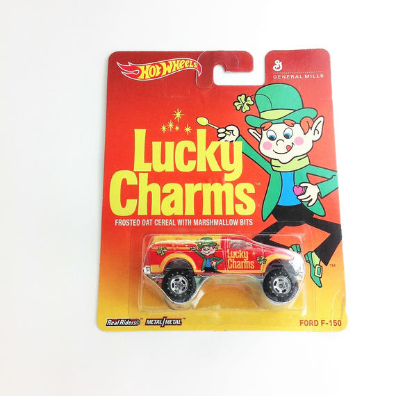 【HOT WHeeLS】 Lucky Charms FORD F-150