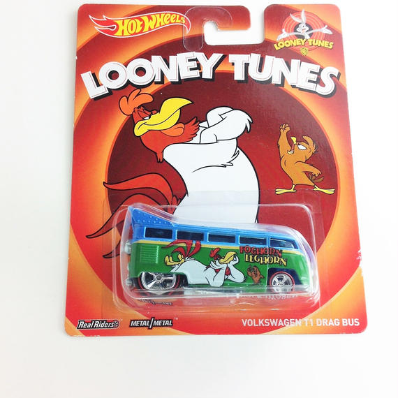 【HOT WHeeLS】 LOONEY TUNES VOLKSWAGEN T1 DRAG BUS