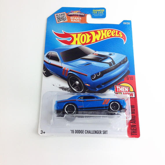 【HOT WHeeLS】  THEN AND NOW '15 DODGE CHALLENGAR SRT